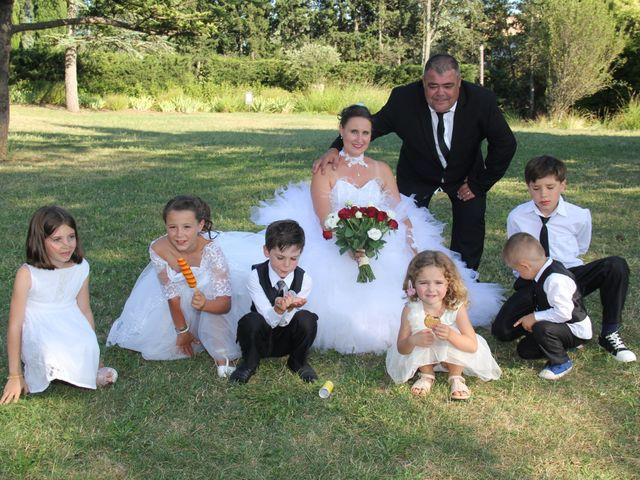 Le mariage de Romuald et Virginie à Clarensac, Gard 140