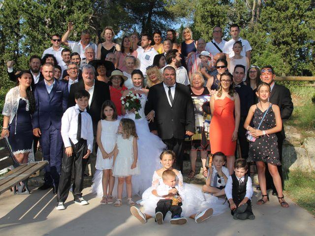 Le mariage de Romuald et Virginie à Clarensac, Gard 155