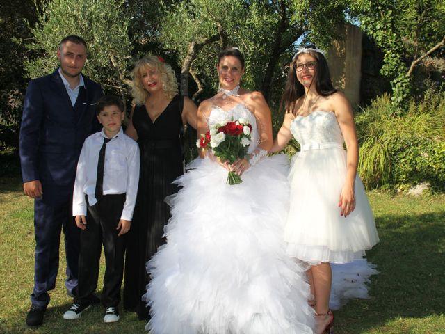 Le mariage de Romuald et Virginie à Clarensac, Gard 167