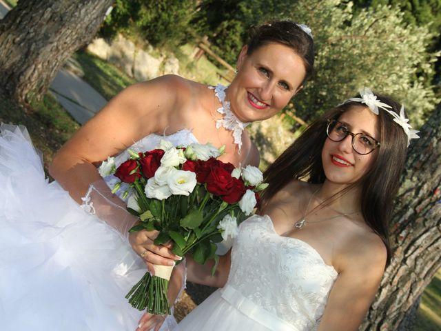 Le mariage de Romuald et Virginie à Clarensac, Gard 170