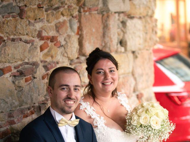Le mariage de Xavier et Pauline à Mirepoix, Ariège 14