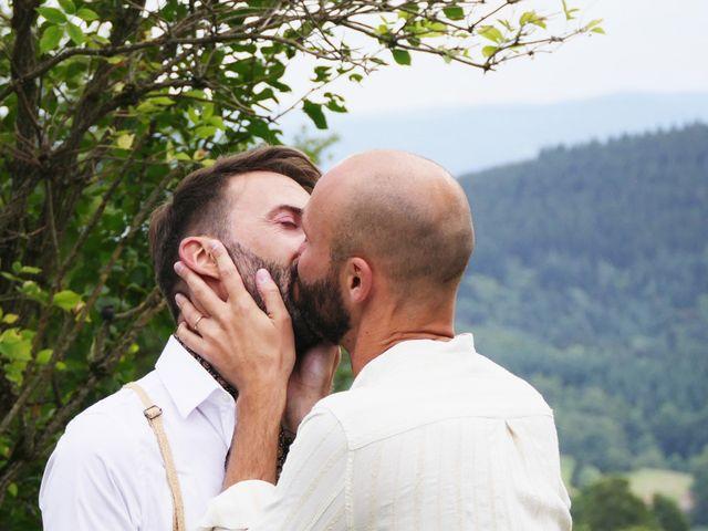 Le mariage de Grégory et Franck à Vollore-Montagne, Puy-de-Dôme 25