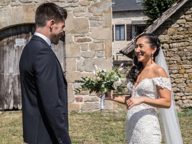 Le mariage de Guillaume et Angela à Saint-Augustin, Corrèze 10
