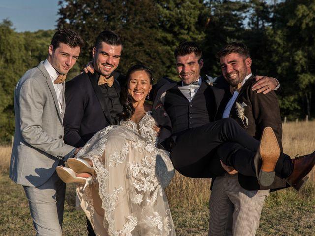Le mariage de Guillaume et Angela à Saint-Augustin, Corrèze 20