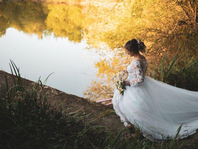Le mariage de Morgan et Lily à Saint-Lizier-du-Planté , Gers 1