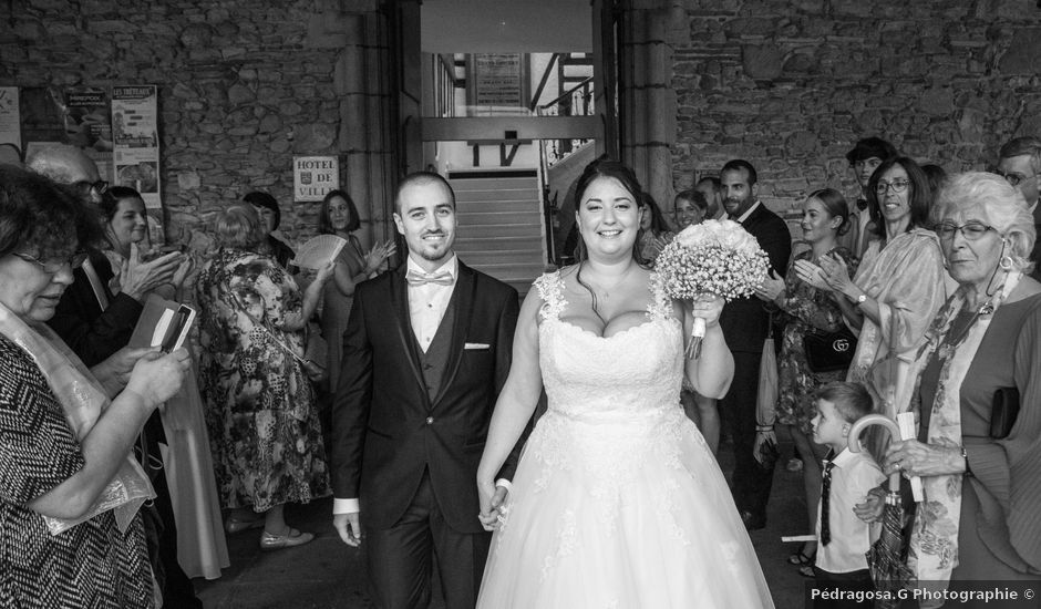 Le mariage de Xavier et Pauline à Mirepoix, Ariège