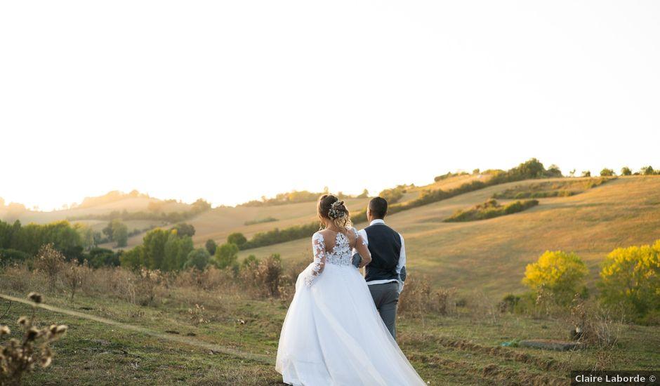 Le mariage de Morgan et Lily à Saint-Lizier-du-Planté , Gers