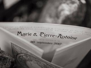Le mariage de Marie et Pierre 1