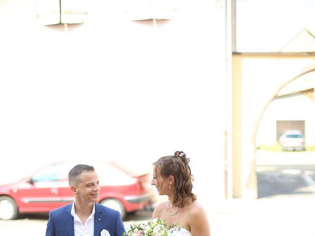 Le mariage de David et Mélanie à Issenheim, Haut Rhin 5