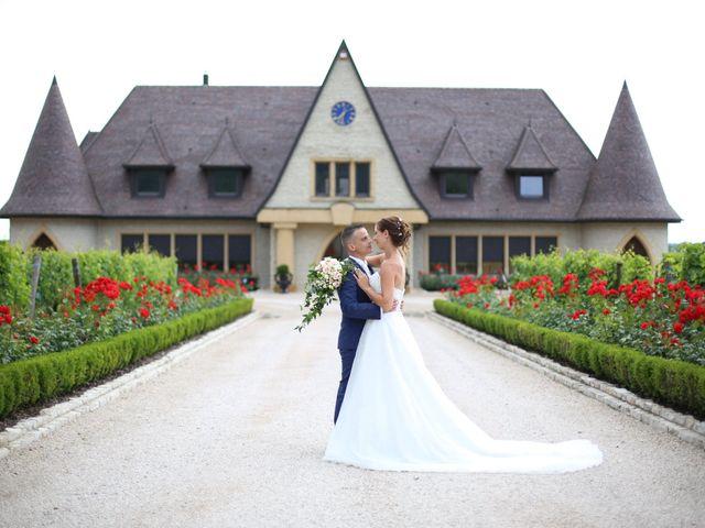 Le mariage de David et Mélanie à Issenheim, Haut Rhin 63