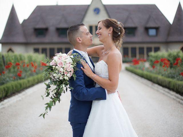 Le mariage de David et Mélanie à Issenheim, Haut Rhin 64