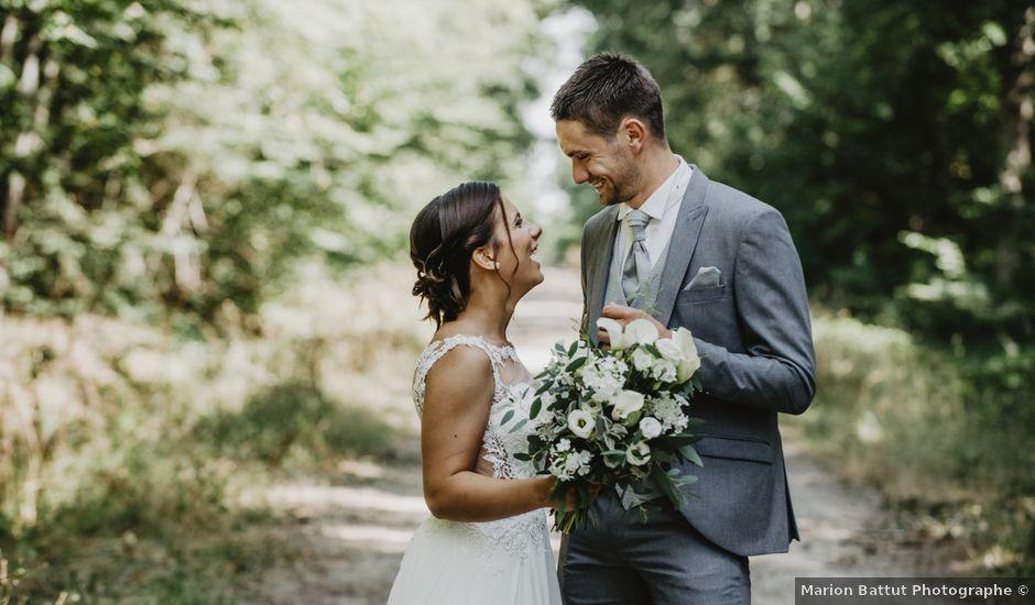 Le mariage de Damien et Marie à Fleuriel, Allier