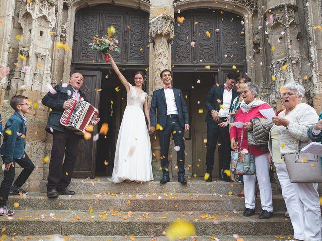Le mariage de Benoit et Anne-Sophie à Mortagne-au-Perche, Orne 1
