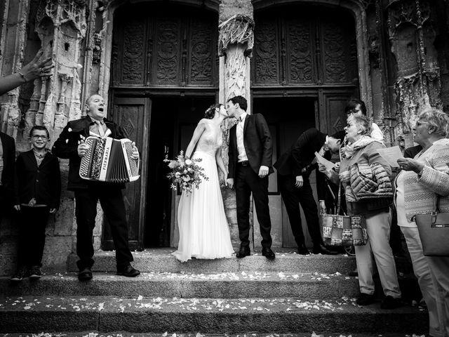 Le mariage de Benoit et Anne-Sophie à Mortagne-au-Perche, Orne 14