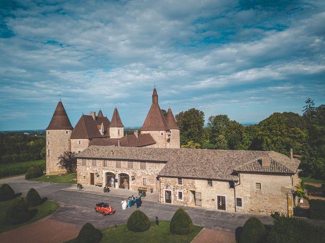 Le mariage de Alejandro et Katel à Corcelles-en-Beaujolais, Rhône 14