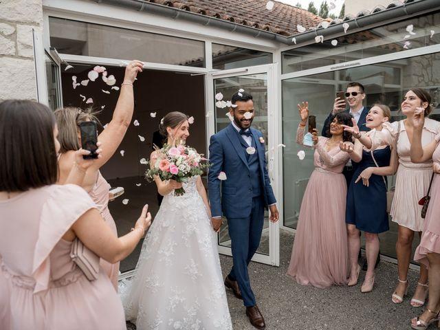 Le mariage de Shay et Claire à Fontcouverte, Charente Maritime 20
