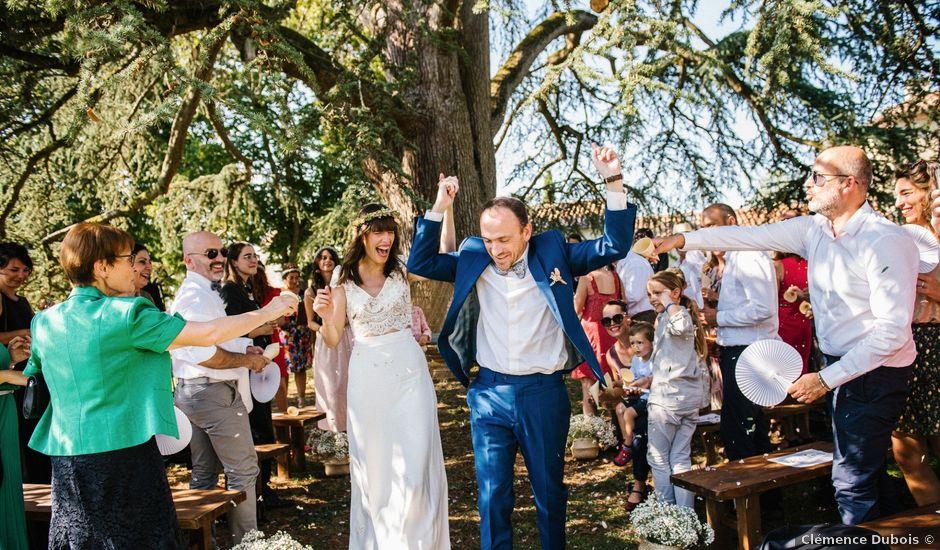 Le mariage de Gilles et Ancha à Buzet-sur-Baïse, Lot-et-Garonne