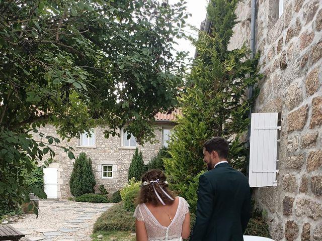 Le mariage de Lucas et Marianne à Riotord, Haute-Loire 3
