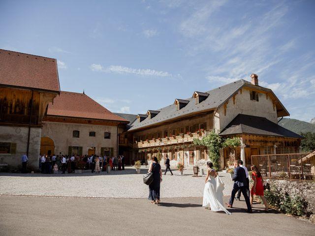 Le mariage de Adrien et Jeanne à Saint-Jorioz, Haute-Savoie 55