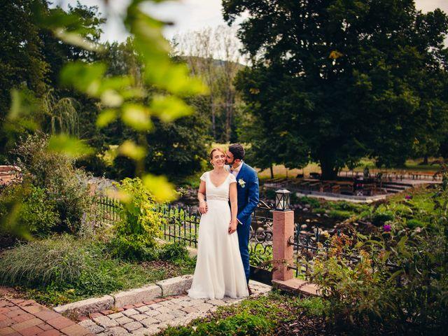 Le mariage de Anthony et Emilie à Wisches, Bas Rhin 54
