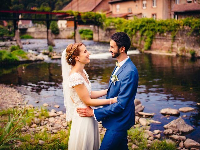 Le mariage de Anthony et Emilie à Wisches, Bas Rhin 64