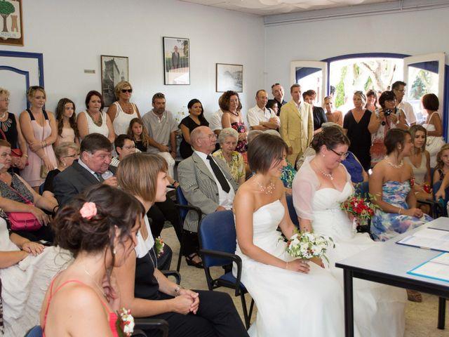 Le mariage de Daria et Emilie à Remoulins, Gard 8