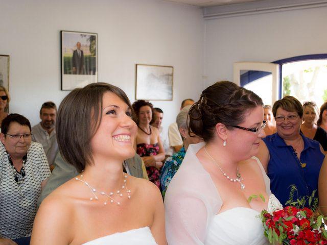 Le mariage de Daria et Emilie à Remoulins, Gard 9