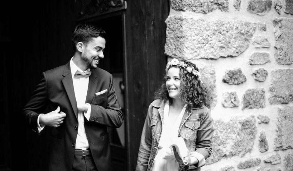 Le mariage de Lucas et Marianne à Riotord, Haute-Loire