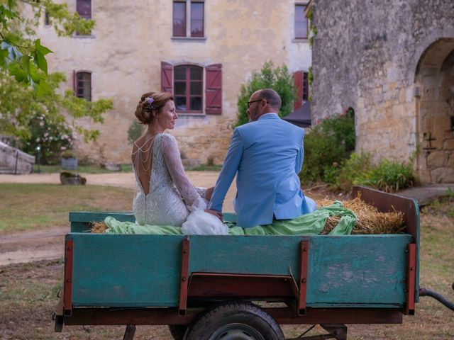 Le mariage de Stéphane et Iryna à Frontenac, Gironde 13