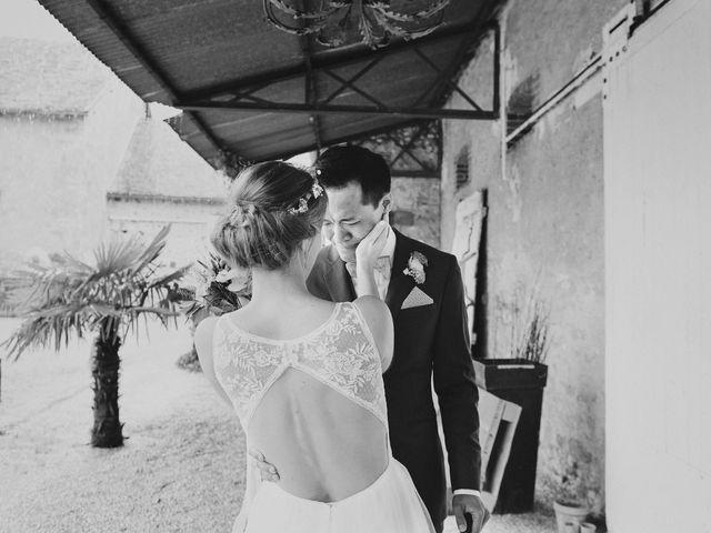 Le mariage de Wing et Lucie à Châtenay-sur-Seine, Seine-et-Marne 13