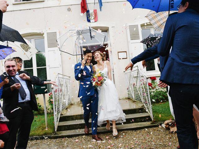 Le mariage de Wing et Lucie à Châtenay-sur-Seine, Seine-et-Marne 17