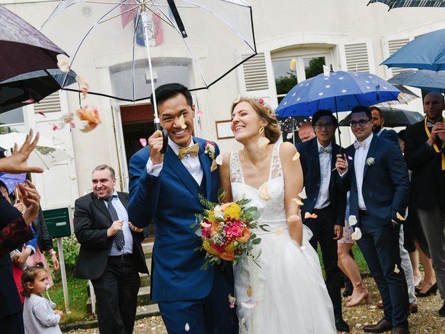 Le mariage de Wing et Lucie à Châtenay-sur-Seine, Seine-et-Marne 18