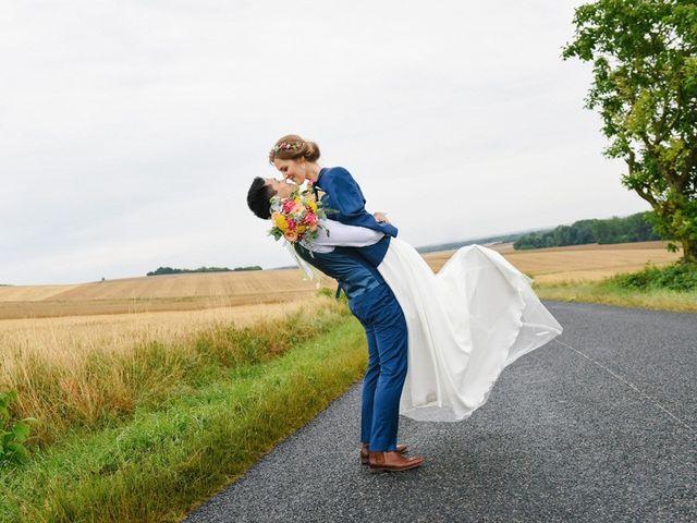 Le mariage de Wing et Lucie à Châtenay-sur-Seine, Seine-et-Marne 23