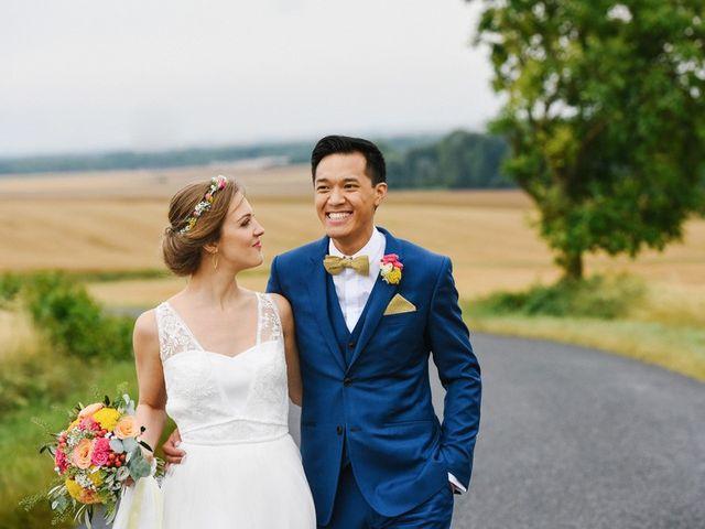 Le mariage de Wing et Lucie à Châtenay-sur-Seine, Seine-et-Marne 21
