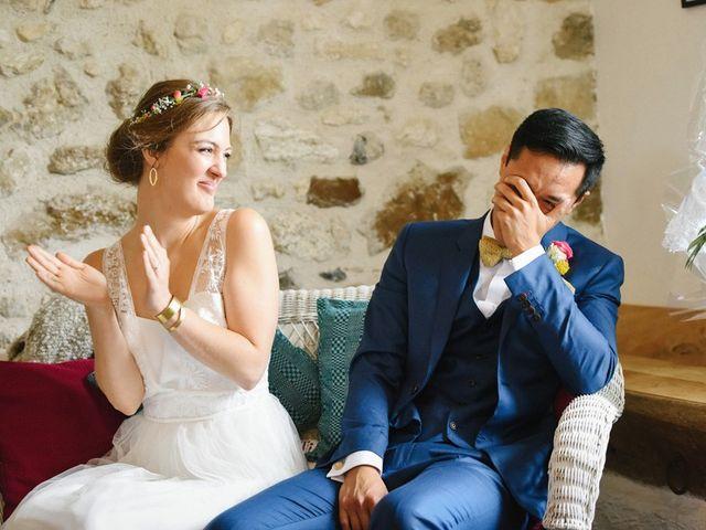 Le mariage de Wing et Lucie à Châtenay-sur-Seine, Seine-et-Marne 26