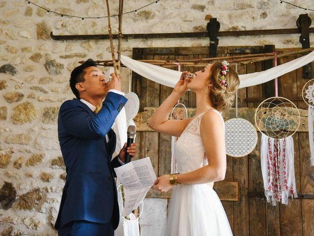 Le mariage de Wing et Lucie à Châtenay-sur-Seine, Seine-et-Marne 29