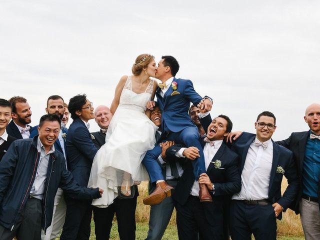 Le mariage de Wing et Lucie à Châtenay-sur-Seine, Seine-et-Marne 35