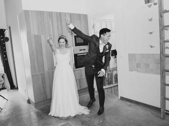 Le mariage de Wing et Lucie à Châtenay-sur-Seine, Seine-et-Marne 39