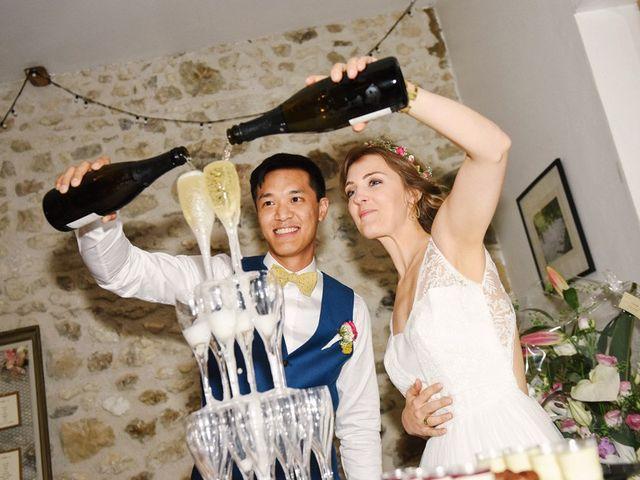 Le mariage de Wing et Lucie à Châtenay-sur-Seine, Seine-et-Marne 42