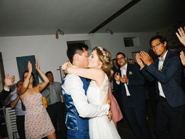 Le mariage de Wing et Lucie à Châtenay-sur-Seine, Seine-et-Marne 1