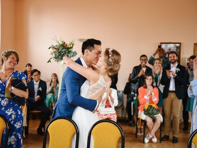 Le mariage de Wing et Lucie à Châtenay-sur-Seine, Seine-et-Marne 16