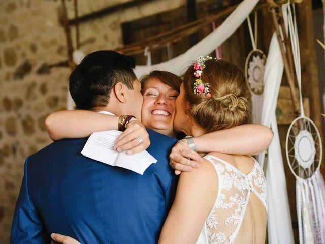 Le mariage de Wing et Lucie à Châtenay-sur-Seine, Seine-et-Marne 28