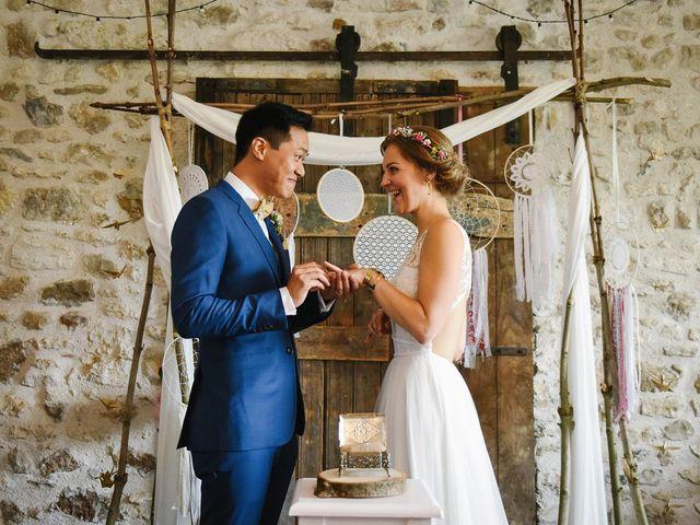 Le mariage de Wing et Lucie à Châtenay-sur-Seine, Seine-et-Marne 30