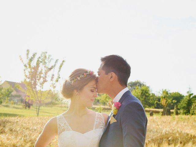 Le mariage de Wing et Lucie à Châtenay-sur-Seine, Seine-et-Marne 37