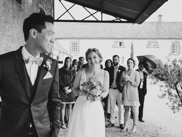Le mariage de Wing et Lucie à Châtenay-sur-Seine, Seine-et-Marne 12