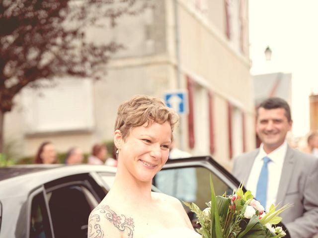 Le mariage de Guillaume et Aurélie à Brains-sur-Gée, Sarthe 3