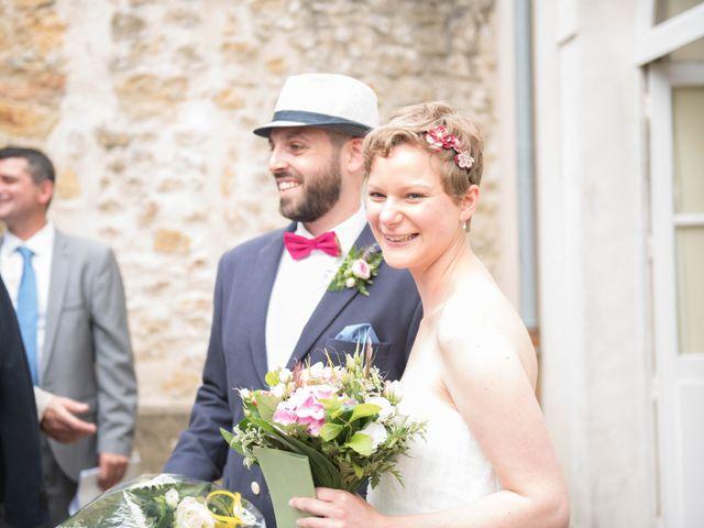 Le mariage de Guillaume et Aurélie à Brains-sur-Gée, Sarthe 8