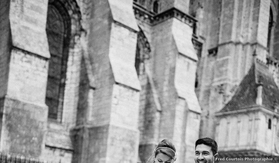 Le mariage de Matthieu et Alexandra à Mignières, Eure-et-Loir