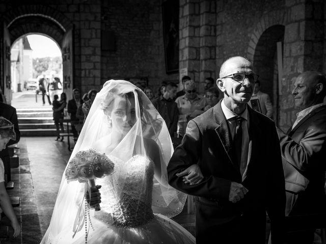 Le mariage de Kévin et Cassandra à Saint-Benoît, Vienne 1