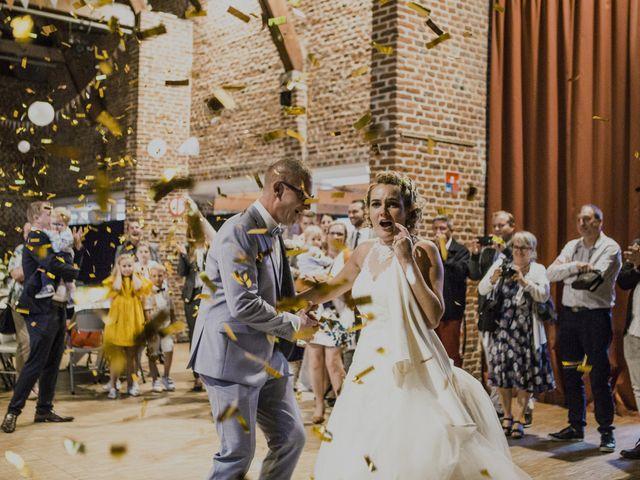 Le mariage de Jeremy et Justine à Toufflers, Nord 26